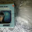 NOS Grant Snap On Clear Sport Helmet Face Shield Bubble Stock No. 7110 USA Vtg