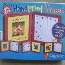 Look At Me Handprint Frame NEW Curiosity Kits Footprint Picture Keepsake Kids