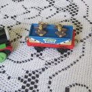 Lot of 3 Thomas The Train 1989 Ertl Toby 7 Monkey Car Sodor Zoo Percy Die Cast
