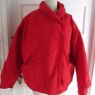 Vintage Womens Woolrich Woman Down Shawl Collar Puffer Ski Jacket Parka sz L USA