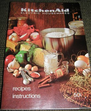 KitchenAid Electric Housewares Recipes and Instructions