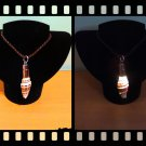 Handmade Real Seashell Light Necklace with Free Delivery (Vexillum Plicarium)