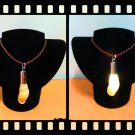 Handmade Real Seashell Light Necklace with Free Delivery (Achatina Iredalei)