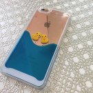 iPhone 6plus and 6s Plus  Dynamic Flowing Duck Duck Case, 3D iPhone Case, Liquid Glitter iPhone Case
