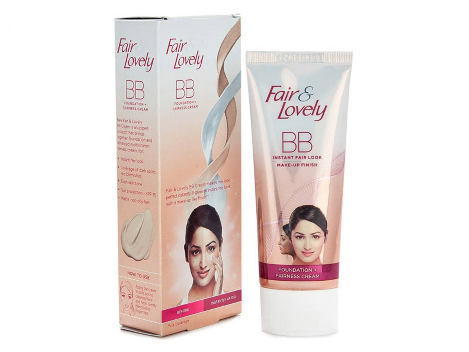 Fair and Lovely BB Cream - Instant Fair Look - Make-up Finish  - 9gms