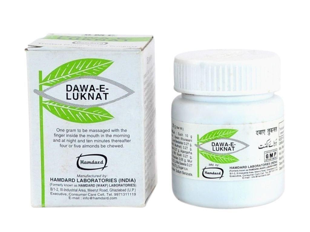 100% Natural Hamdard Dawa-E-Luknat Unani Herbal - 25Gm