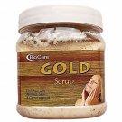 Biocare Gold Scrub with Kesar & Wheat germ oil -500 Ml-Free Shipping