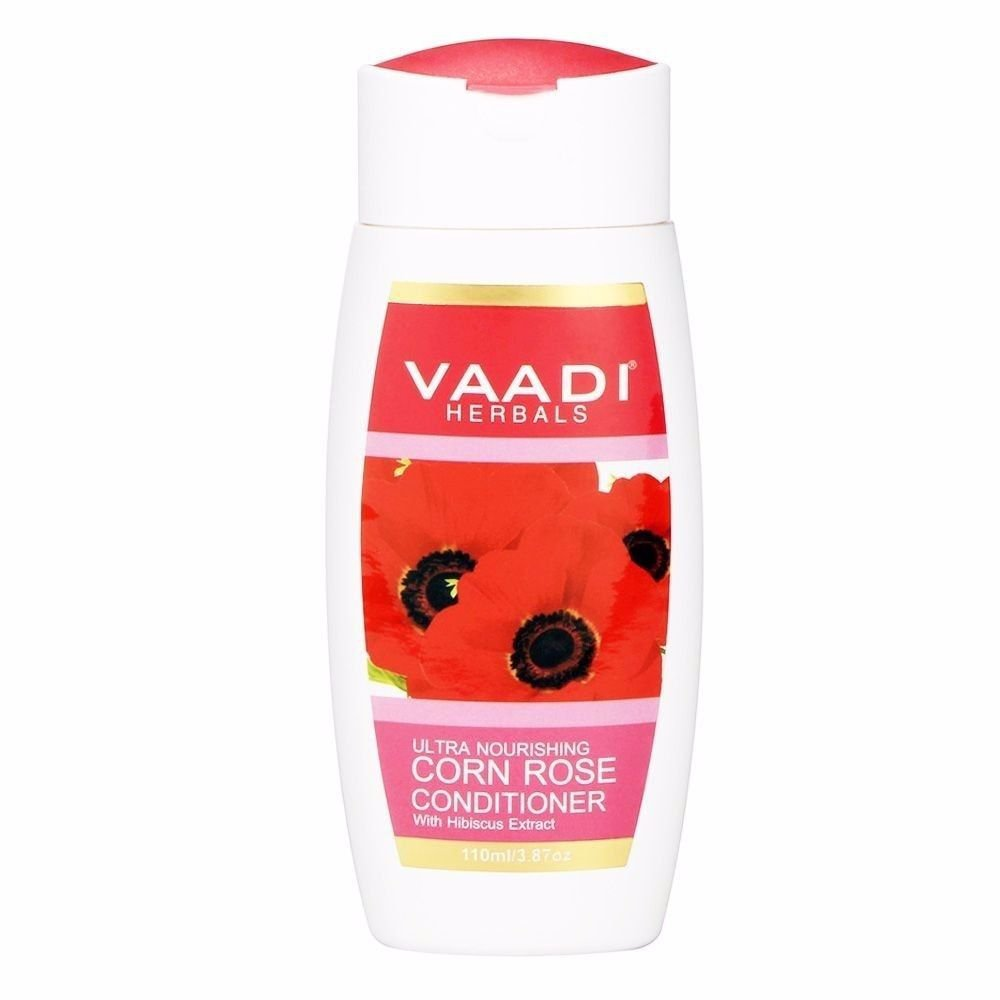 Vaadi Herbals Red Corn Rose Conditioner with Hibiscus-110/ 350 Ml For Hair