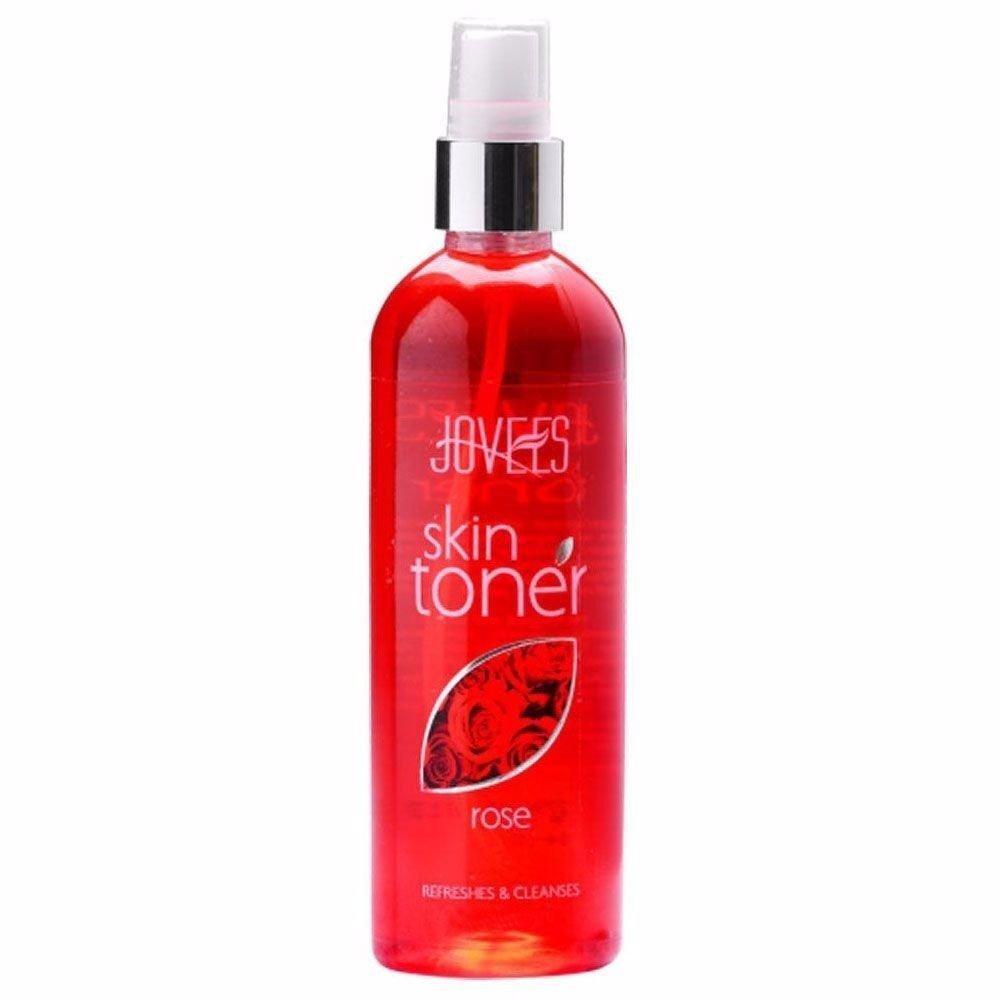 New Jovees Rose Skin Toner-Keeps Your Skin Soft & Moisturise-100 / 200 Ml