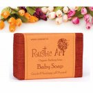 Ph Neutral Rustic Art Organic Baby Soap - No Animal Testing - 100 Gms