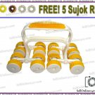 Brand New Acupressure 16 wheel Power Roll Massager for Body Massage Therapy