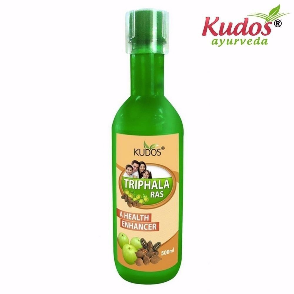 Kudos Ayurveda Aloe Vera Triphala Juice Useful For Overall Health - 500ml