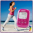 Brand New 5 Pedometer Pink Walking Style - Omron HJ-32