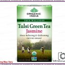 100% Certified Natural Tulsi Green Tea (jasmine)- Supports The Immune System