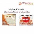 Patanjali Divya Arjuna Kwath Healthy Heart Supports Cardiovascular Health 100Gm