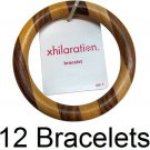 NWT $84 Wholesale Lot Bangle Bracelets Wood Fashion Jewelry Costume XHILARATION