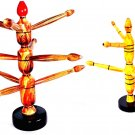 WOODEN BANGLE STAND / SHOWPIECE FOR JEWELLERY STORAGE