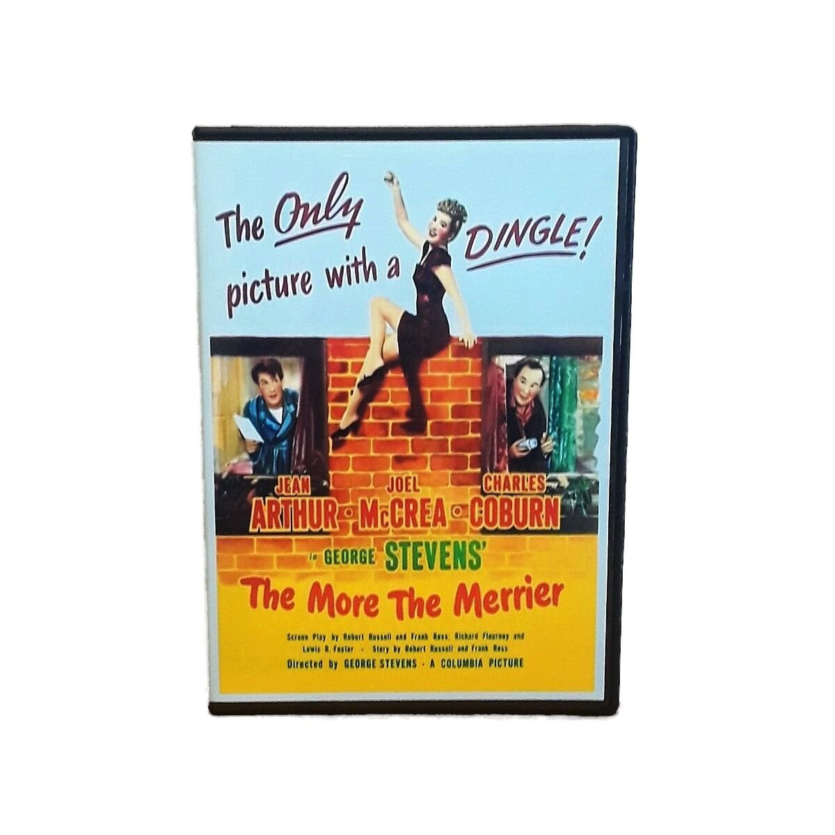 The More the Merrier 1943 Jean Arthur Joel McCrea Comedy