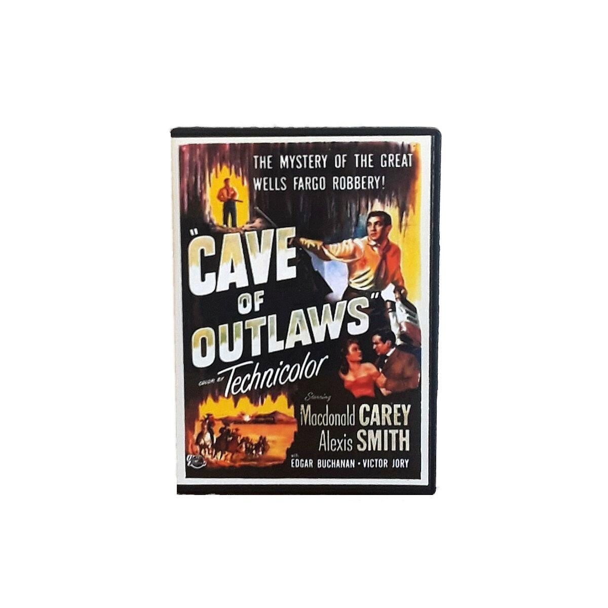 Cave of Outlaws 1951 Macdonald Carey Action Drama