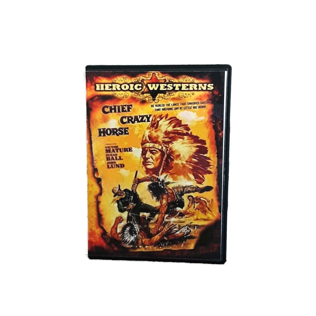Chief Crazy Horse 1955 Victor Mature Biography Western