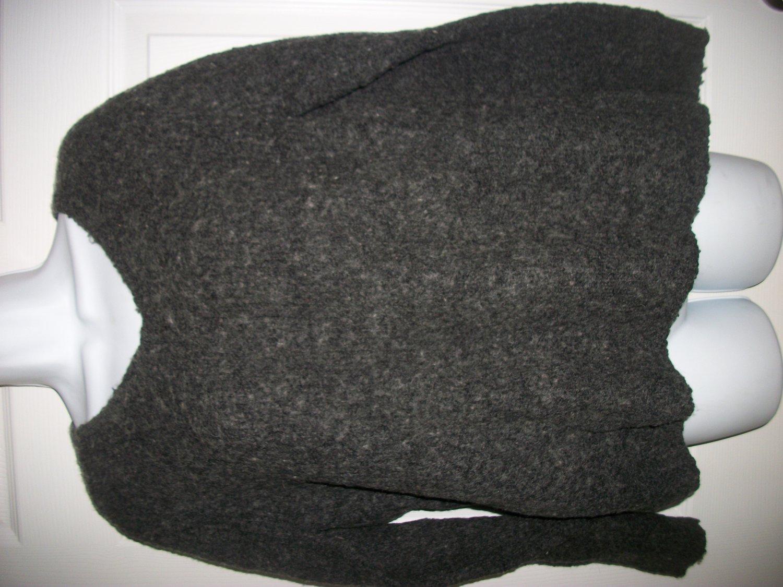 Paraphrase Women's Gray Wool Blend Sweater Size M