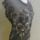 Womens soft blouse top size L