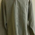 haggar mens casual shirt long sleeve size L