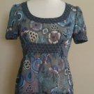 Delias womens top blouse size XS