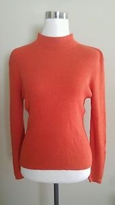 Westbound womens sweater top size L orange