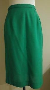 Womens skirt size 26 green