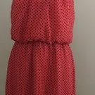 Sweet Storm womens night out dress size M coral
