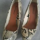 Atmosphere womens platform heels size 8.5 snake print