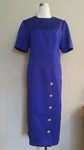 Handmade womens dress size XL purple