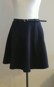 Love culture womens skirt with belt size 28 black