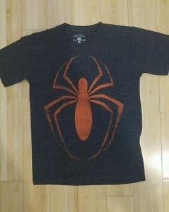 Spider mens marvel print boys t-shirt size M