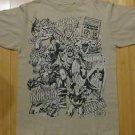 Marvel comics solar flare tshirt iron man  spiderman hulk capt america size M