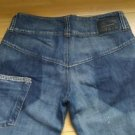 Atos lombardini womens distressed jean rare & unique Size 32 Made In Italy