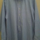 David taylor long sleeve men shirt size L 16-16 1/2 x 34/35