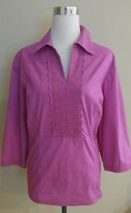 Made by a tailor womens blouse top 3/4 sleeve size XL