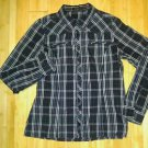 XXI forever 21 womens girl buttom down shirt  top blouse size M