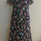 Jaclyn smith 2 pieces womens dress set size S floral 1-014