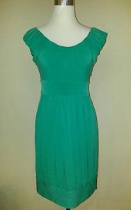 Max and cleo womens shift dress size 8 green