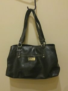 Nine co womens purse shoulder handbag black