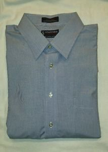 Stafford men long sleeve dress shirt size XL