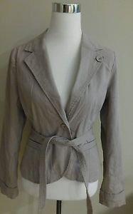 Mossimo corduroy womens jacket top size M beige