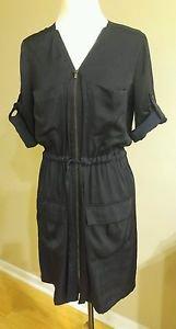 BCBG max azria womens shift dress size S black