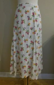 Women skirt floral size 6
