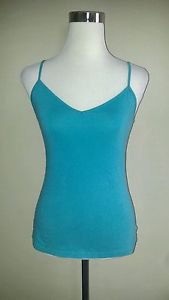 Old navy womens stretch tank top cami size M green