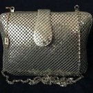 vintage jo jan exclusive unique womens purse handbag silver