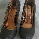 Atmosphere womens platform heels shoes size 8.5 black